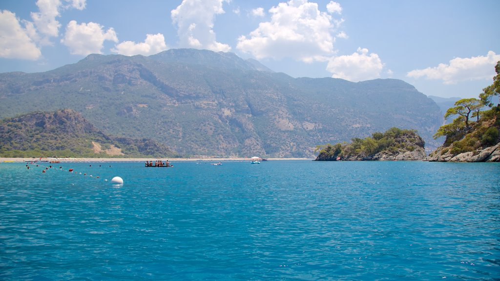 Oludeniz showing general coastal views