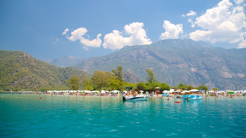 Oludeniz which includes general coastal views