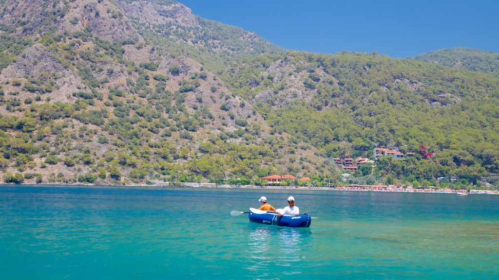 Oludeniz featuring kayaking or canoeing and a lake or waterhole