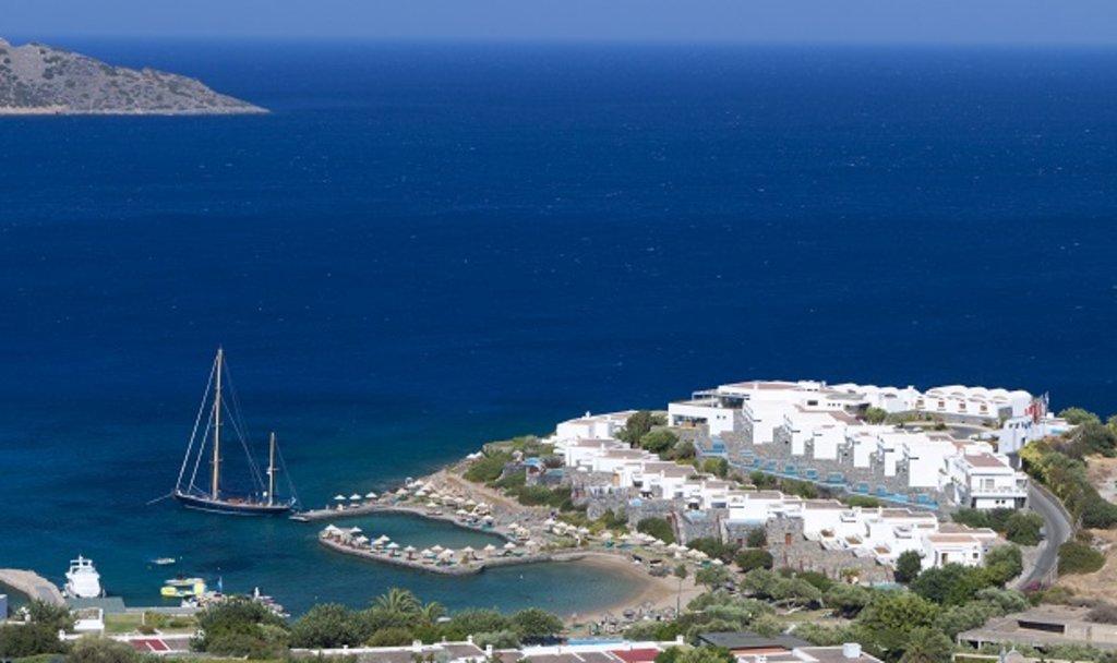 Elounda Bay in Crete