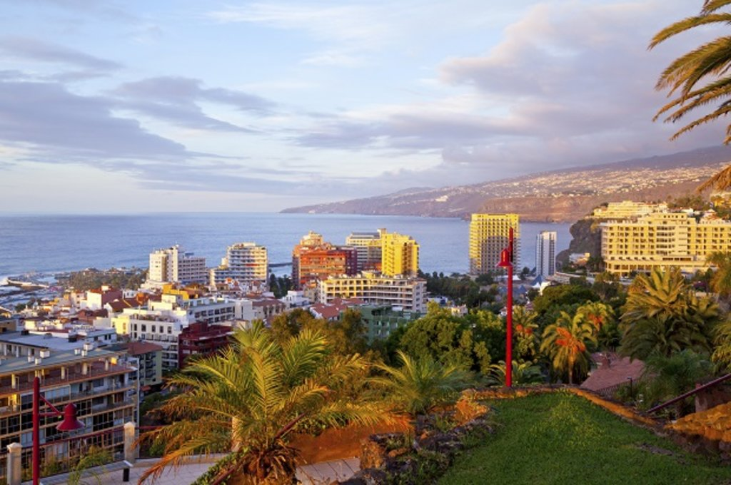The skyline of Tenerife