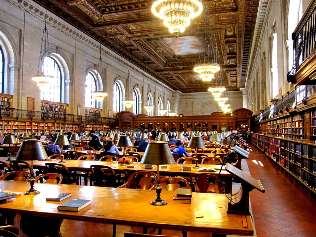New York Public Library Interior - Ghostbusters