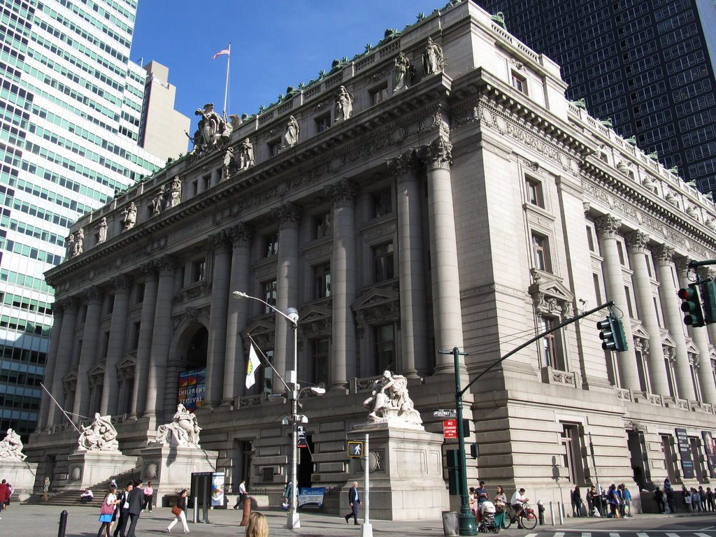 the Alexander Hamilton U.S. Custom House - Ghostbusters