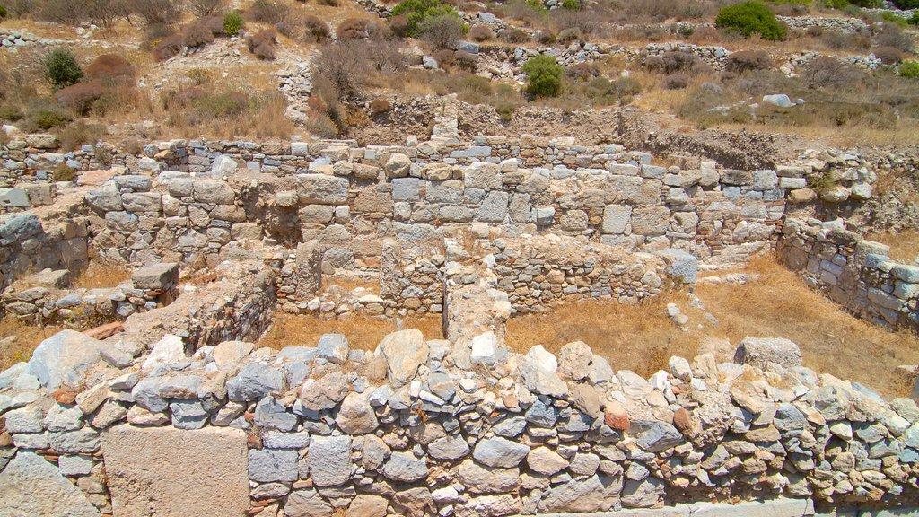 Knidos featuring a ruin