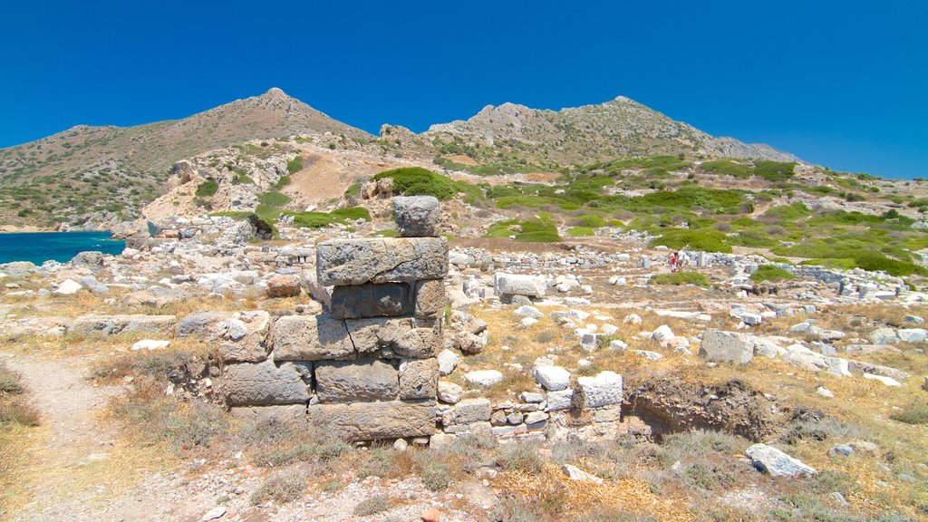 Knidos showing building ruins