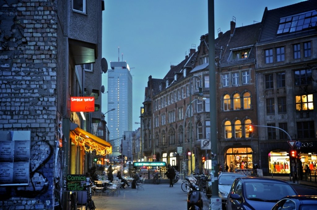 Weinmeisterstraße. Image by Robert Agthe via CC BY 2.0 licence.