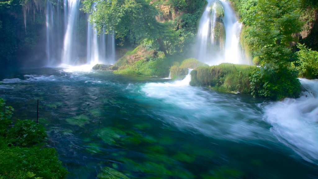 Antalya which includes a waterfall