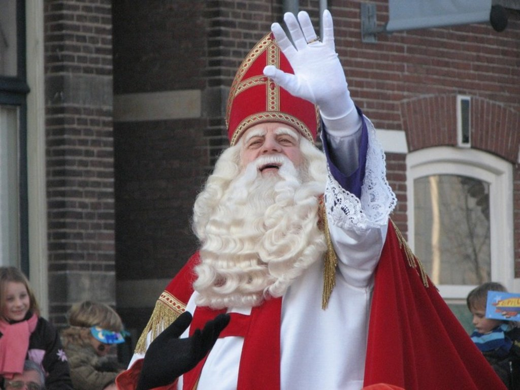 The arrival of Sinterklaas!