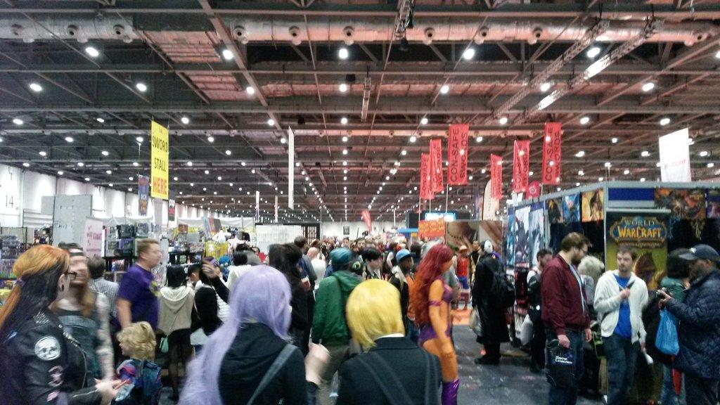 London Comic Con Stalls