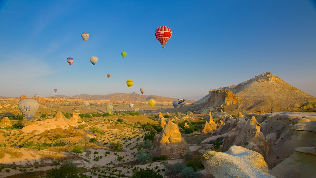 Pasabag showing tranquil scenes and ballooning