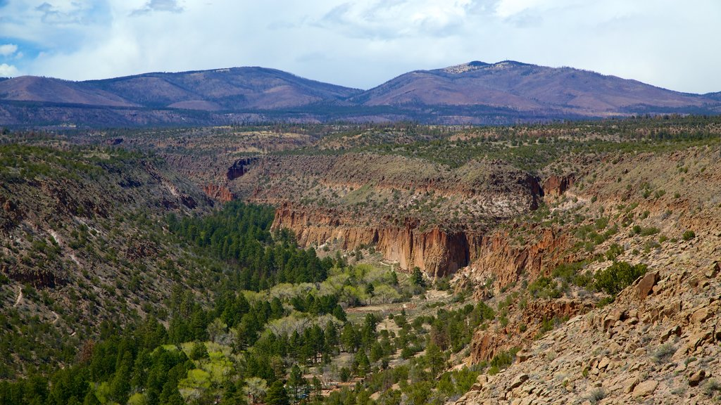 Bandelier National Monument which includes landscape views