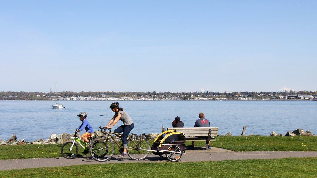 Bellingham featuring cycling and a river or creek