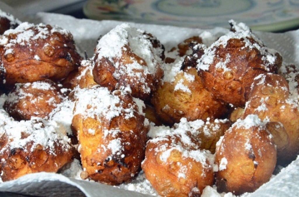 Zeppole Italian doughnuts