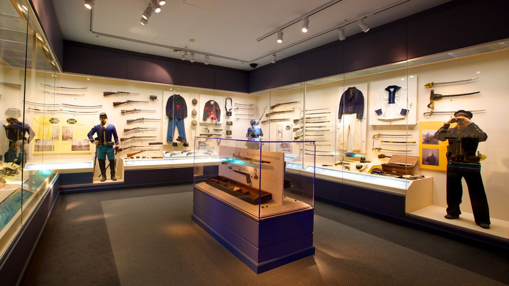 National Civil War Museum featuring military items