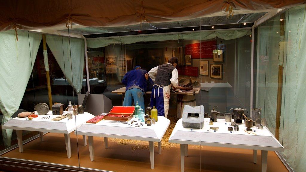 National Civil War Museum featuring interior views and art