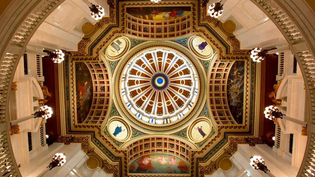 Pennsylvania State Capitol which includes interior views, heritage architecture and an administrative buidling