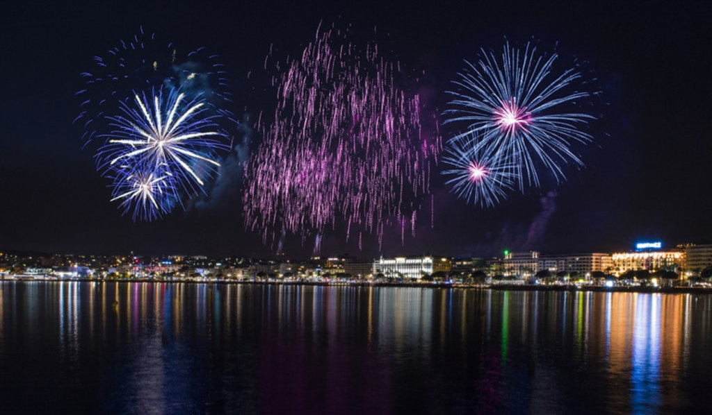 Cannes firework