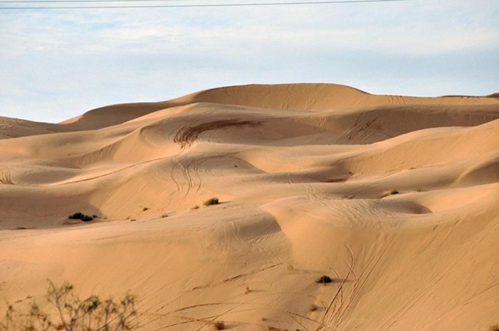 Buttercup Valley, Yuma Desert, Star Wars
