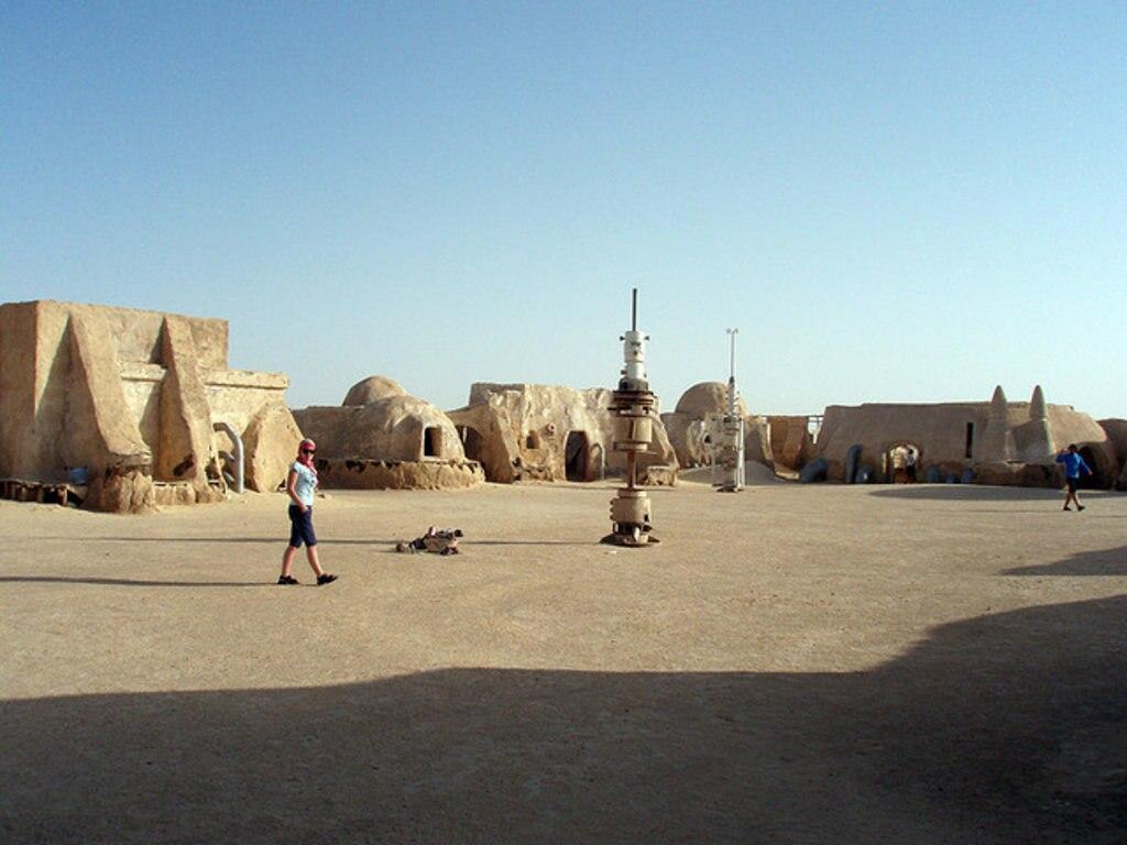 Ajim, Island of Djerba, Star Wars