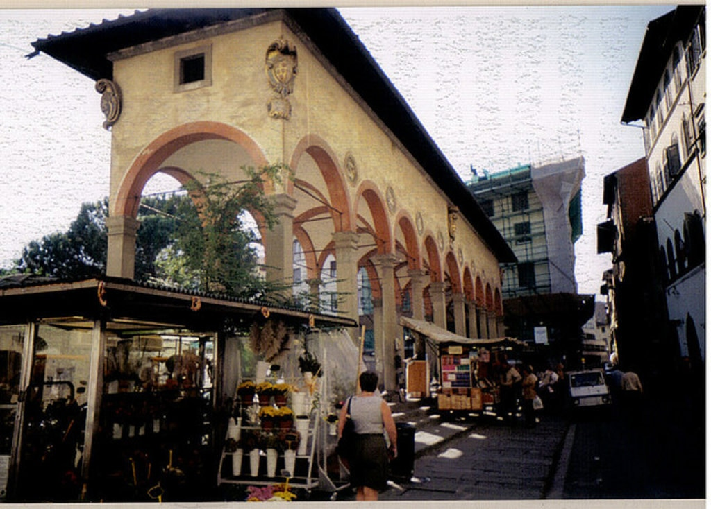 Local markets in Florence