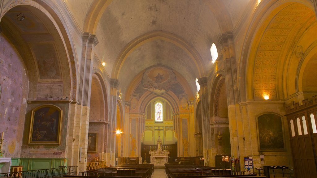 Orange featuring a church or cathedral, interior views and religious elements