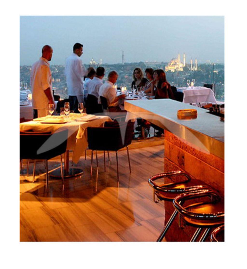 Mikla restaurant in Istanbul