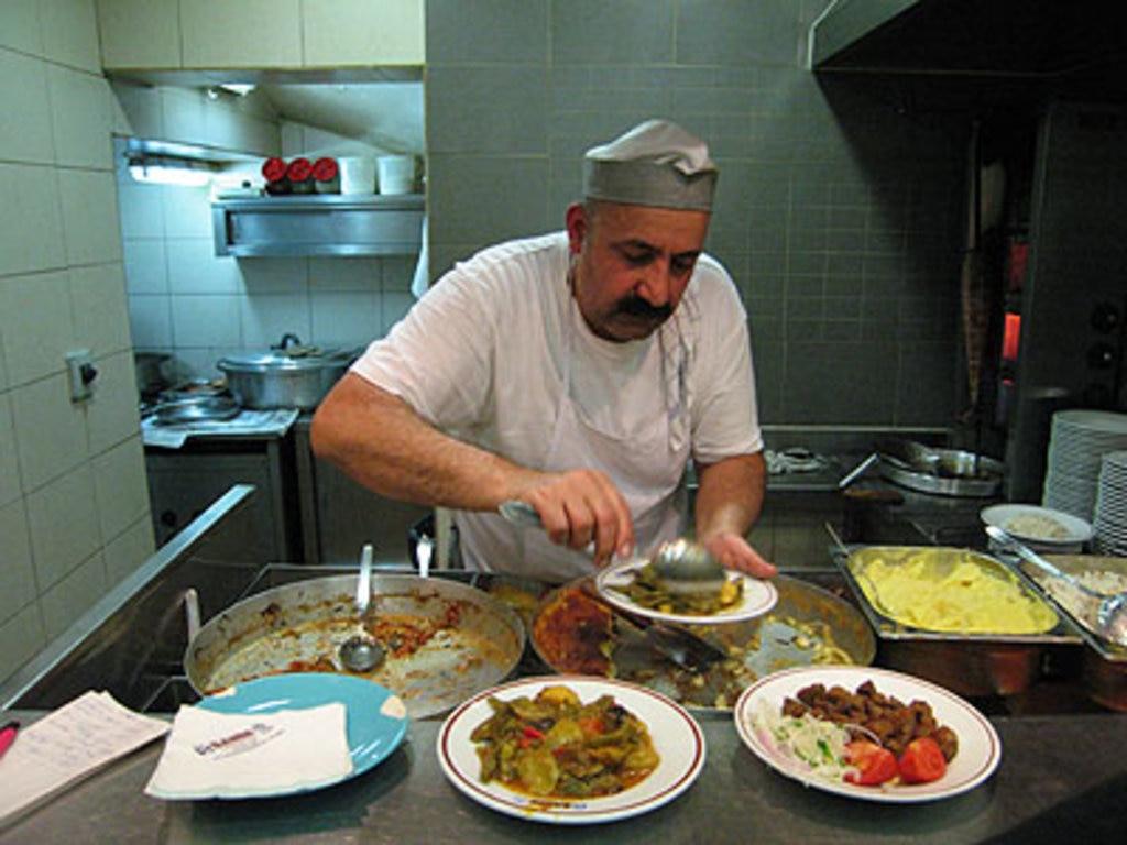 Şahin Lokantasi restaurant in Istanbul