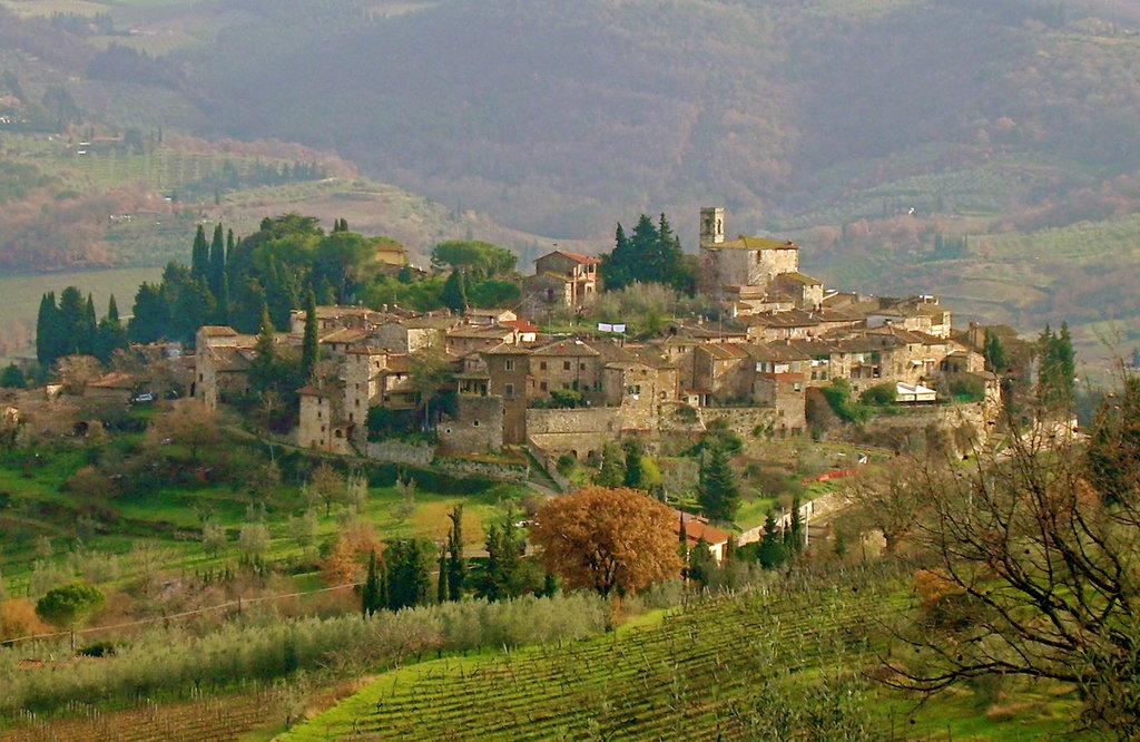 Montefioralle, Tuscany