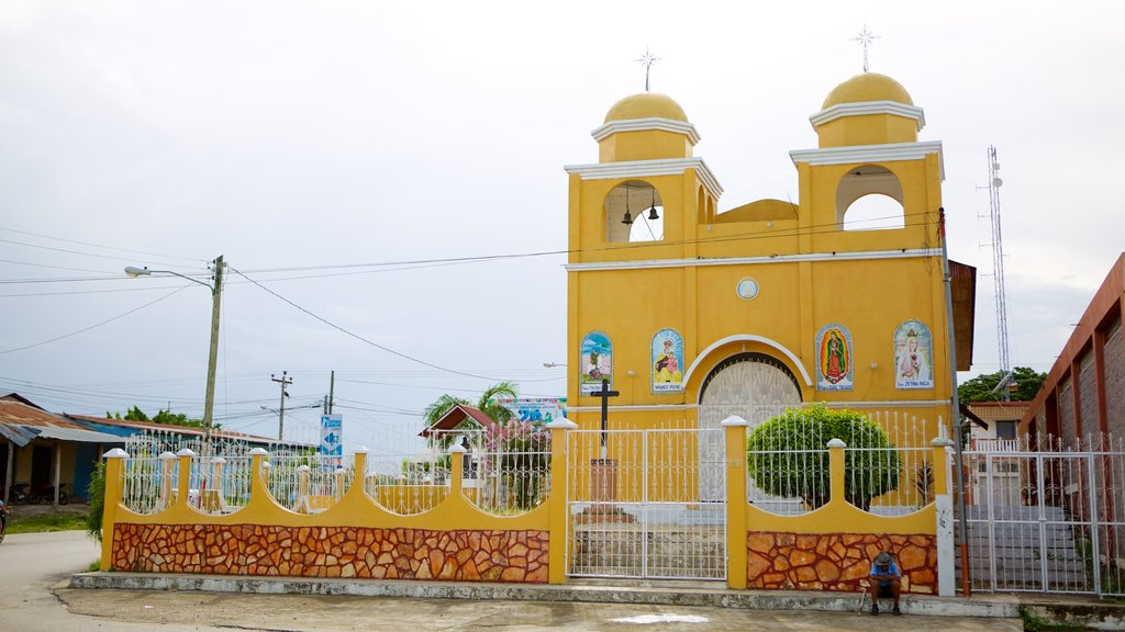Santa Elena showing a church or cathedral and religious aspects