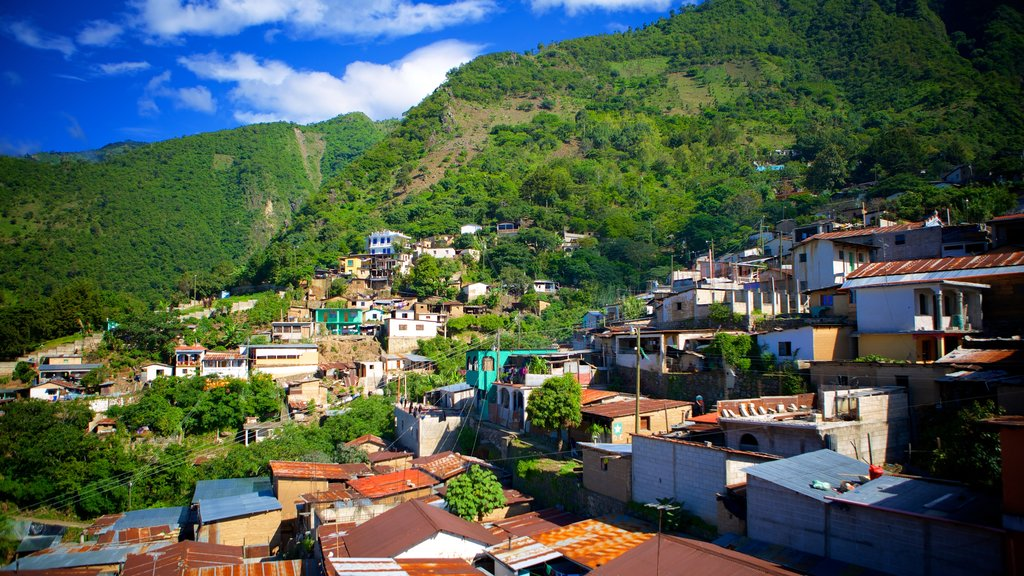Santa Cruz La Laguna featuring a city and landscape views
