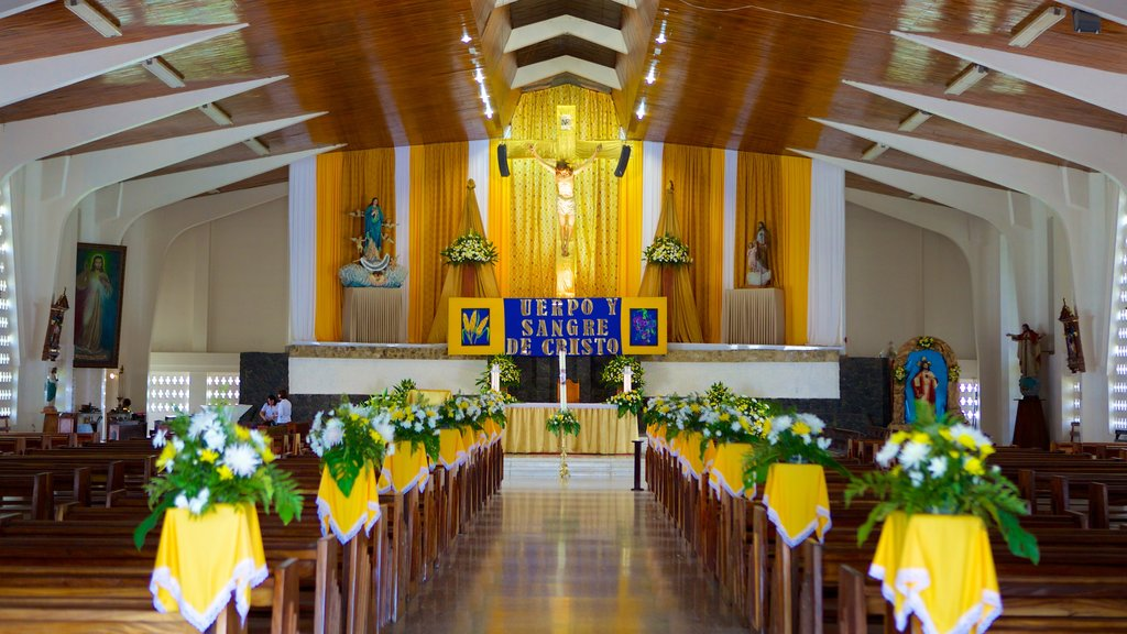 Liberia which includes a church or cathedral, interior views and religious elements