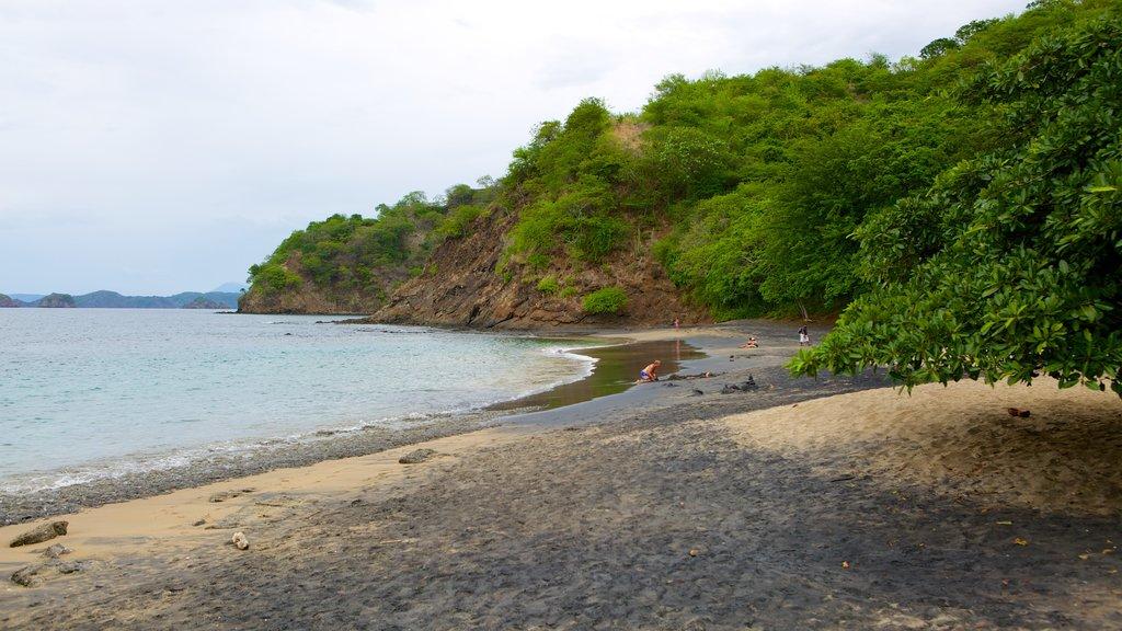 El Ocotal mostrando una playa