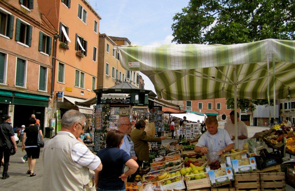Italy Venice Markets