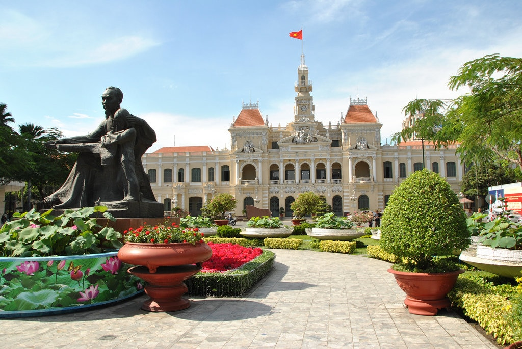 Mairie d' Ho Chi Minh City, by perrau85 on Flickr