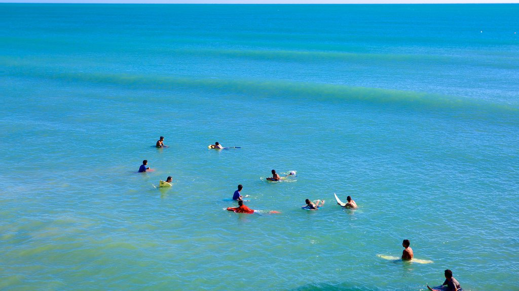 Fortaleza featuring surf, surfing and general coastal views