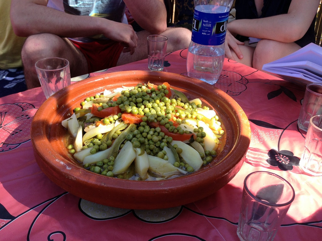 Moroccan tagine cooked over the fire, Paradise Valley