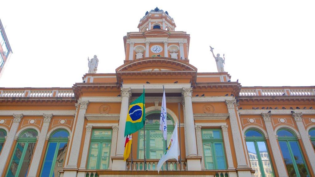 Porto Alegre featuring heritage architecture