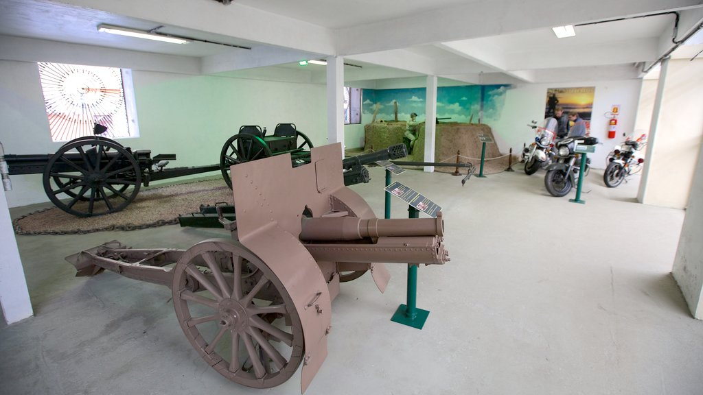 Military Museum featuring military items and interior views