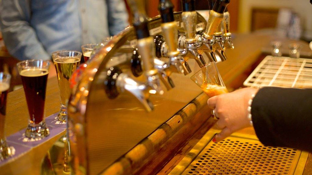 Speight\'s Brewery featuring a bar, drinks or beverages and interior views