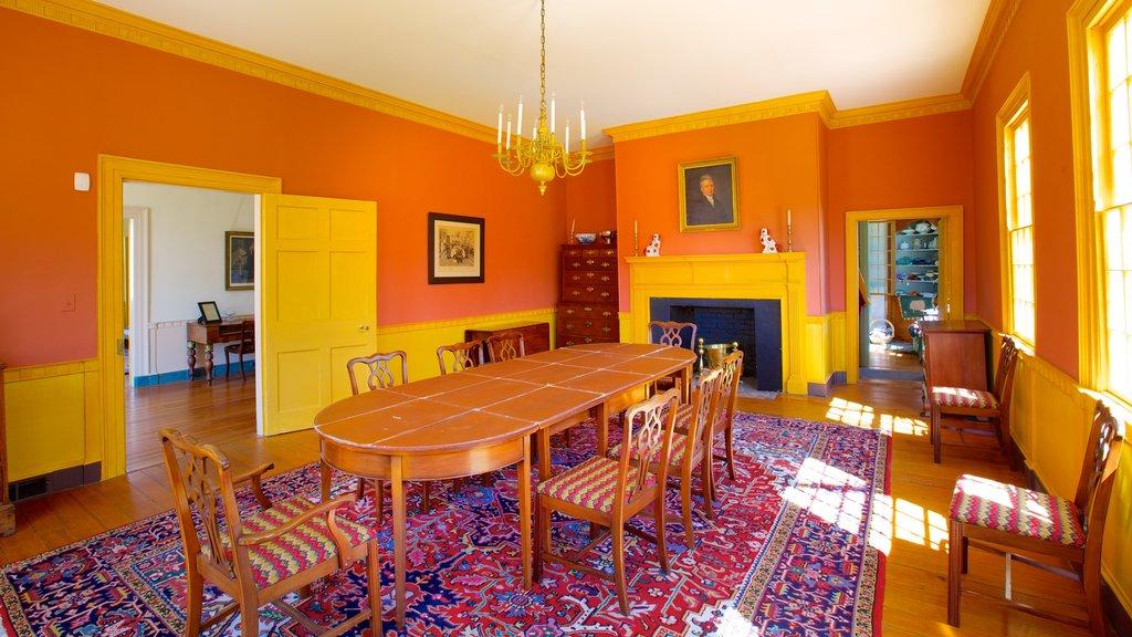 Poplar Hill Mansion featuring interior views