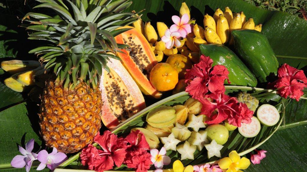Saipan featuring food