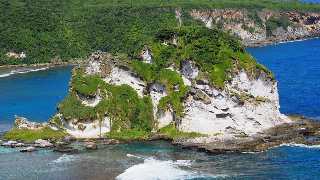 Saipan which includes island images