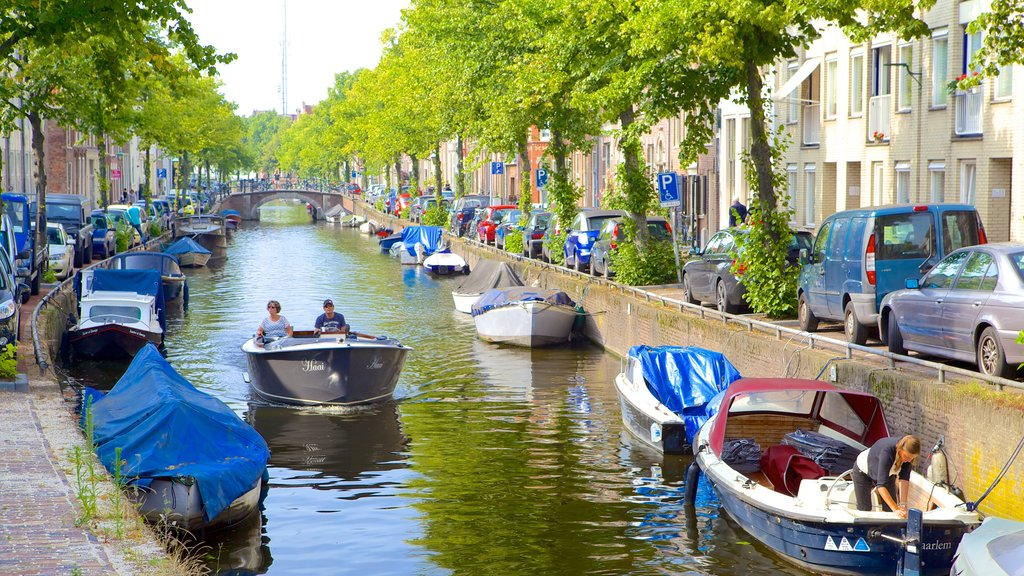 Haarlem featuring a river or creek and boating