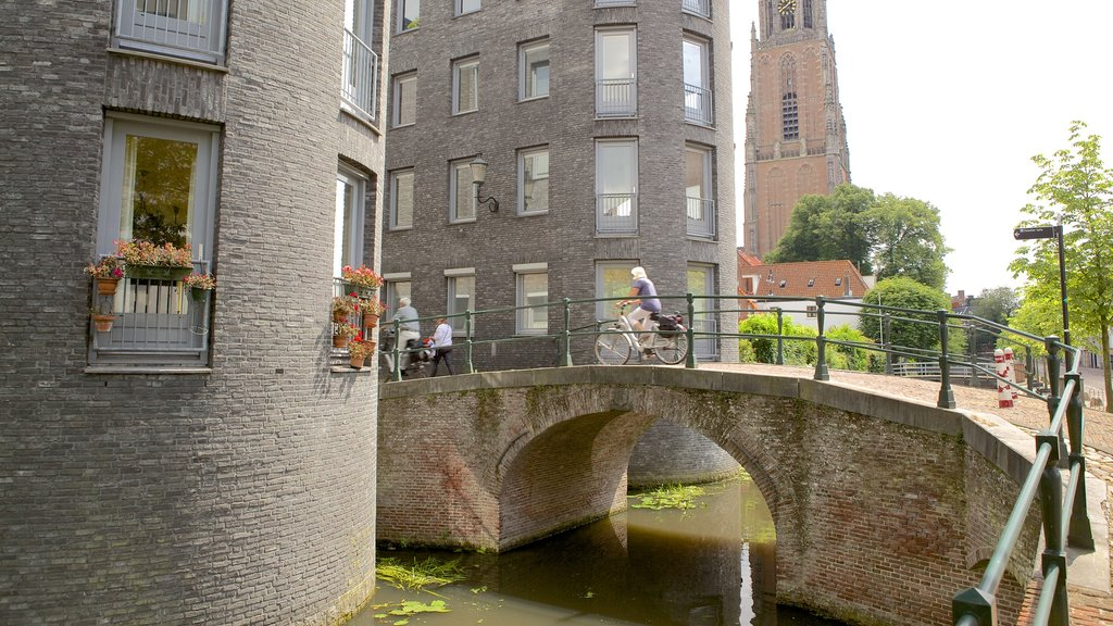 Amersfoort featuring a bridge, a small town or village and a river or creek