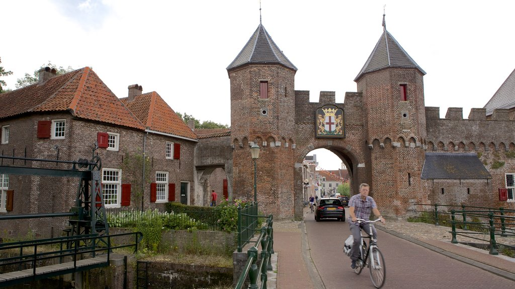 Amersfoort which includes cycling, heritage architecture and heritage elements