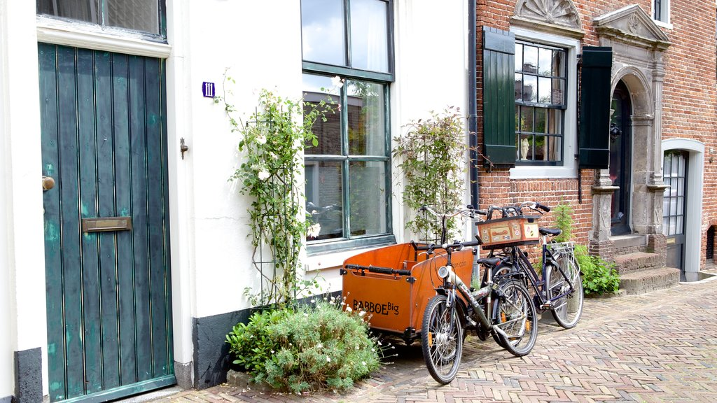 Amersfoort featuring street scenes