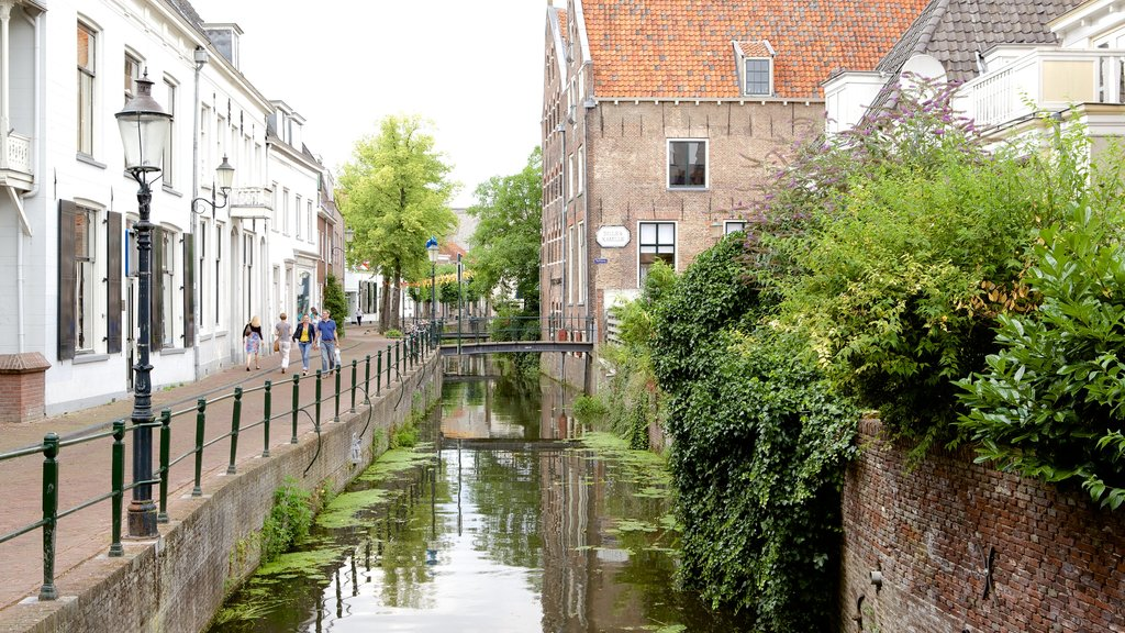 Amersfoort which includes street scenes and a river or creek