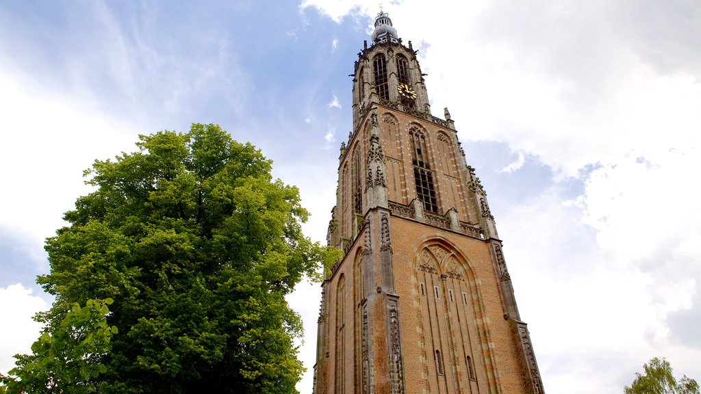 Amersfoort showing a church or cathedral, heritage architecture and heritage elements