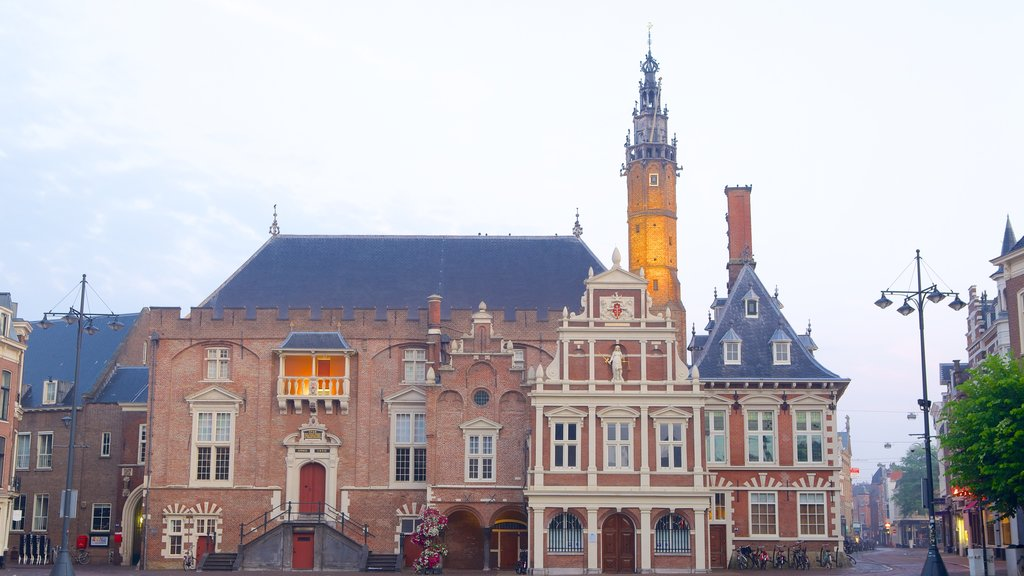 Stadhuis which includes heritage architecture and street scenes