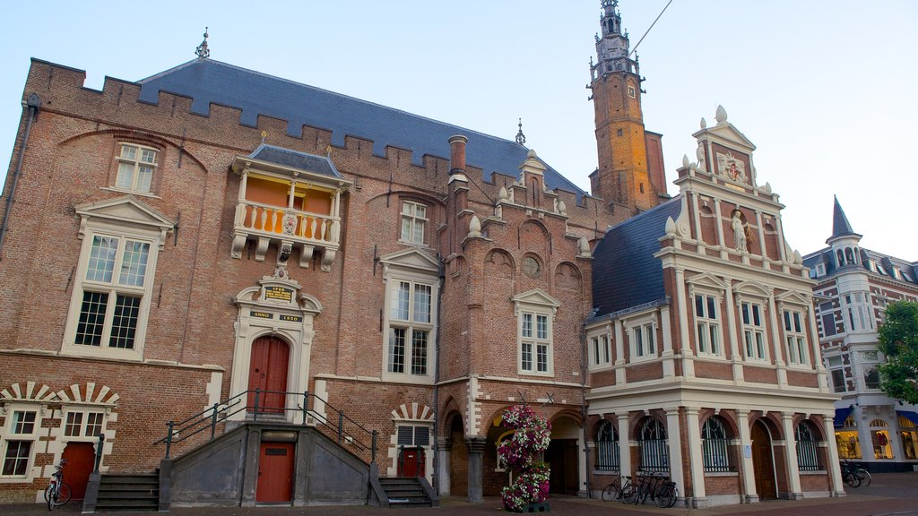 Stadhuis featuring heritage architecture and street scenes